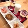 新橋「旅人」日本酒×韓国料理!?いつも楽しい日本酒立ち飲み