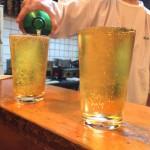 八広「日の丸酒場」強炭酸の焼酎ハイボールが美しく美味しい!落ち着ける老舗大衆酒場
