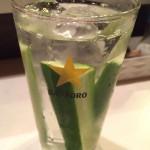 堀切菖蒲園「ふっ子」二度美味しいかっぱハイとお通し300円に大満足!アットホームなコの字の大衆酒場