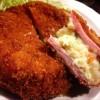 新橋「駿」鶏料理とハムカツとラーメンが美味しい人気の居酒屋