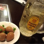 【移転】高田馬場「炎天下(立ち飲み)」500円セットでチョイ飲み