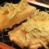 恵比寿「喜久や」大根や道明寺など変り種天ぷらを赤星でグビっと!話題の天ぷら立ち飲み