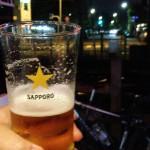 大山「キリンとラガーまん(立ち飲み)」電車を眺めながら一杯!ニューオープンの線路沿い立ち飲み