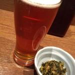 新橋「信州おさけ村」クラフトビールと小鉢でサク飲み!信州の地酒が楽しめる立ち飲み
