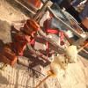 【閉店】新橋「炉縁」佐賀直送の串を囲炉裏で焼こう!楽しい囲炉裏立ち飲み