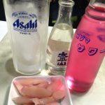 【閉店】池袋「笹屋」新生姜100円でバイスサワー350円をグビっと!ほっと落ち着く角打ち