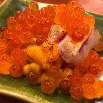 神田「魚祥」とろける炙り中とろ生うに巻きに舌鼓!魚料理が美味しい立ち飲み