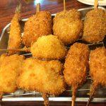 大阪-新世界「串かつ 花道」カツカレーにキンツバ?変り種串かつにワクワクする穴場の串かつ屋