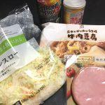 【家飲み】肉豆腐とハムキャベ(セブンイレブン)