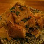 浅草「酒落者」長芋入りの栃尾揚げ350円に舌鼓!料理が美味しくホッと落ち着ける立ち飲み