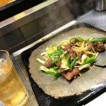 福島-会津若松「皆川食肉店」美味しいホルモン焼きで一杯!お肉屋さんの鉄板焼き酒場