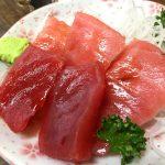 桜木町-野毛「はなみち」美味しいお刺身300円で昼飲み!古風で落ち着くぴおシティの立ち飲み