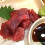 大塚「らくや食堂」金宮酎ハイ300円とまぐろ400円で一杯!魚が旨いアットホームな立ち飲みがニューオープン