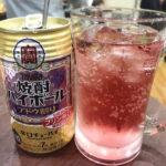 成増「柳下酒店」焼酎ハイボール160円でサク飲み!コンビニみたいに気軽でキレイな角打ち