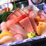 新潟「鈴木鮮魚店」魚屋の片隅で鮮魚をつまみに昼飲み!ドリンク持込OKの飲める魚屋