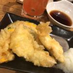 木場「おくまん」天ぷら100円~と熱燗280円で美味しい一杯!魚料理と天ぷらが楽しめる大衆居酒屋