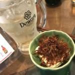 名古屋-伏見地下街「やいちゃん」利酒セット700円がお得!つまみが美味しいキャッシュオンの立ち飲み