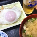 福岡-赤坂「一膳めし 青木堂」お得な朝定食390円で朝酒!朝飲み・昼飲みもできるありがたき食堂