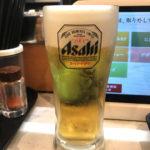 「かっぱ寿司」の一部店舗で生ビール100円祭り開催中!100円ビールで気軽なちょい飲みを楽しむ