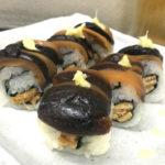 江戸川橋「山吹」椎茸ロールで美味しい一杯!つまみが安くて美味い立ち食いそば屋の二毛作立ち飲み