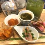 札幌「アテニヨル」お酒2杯アテ5種盛の昼酌セットで昼飲み!日本酒とアテが楽しめる駅直結の居酒屋