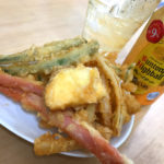 方南町「ワイズ」自家製の天ぷら盛合せ100円で美味しい一杯!朝飲み・昼飲みできる気軽な蕎麦屋