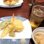浅草「成田」最大4杯・小鉢・天ぷら5種盛りのせんべろセットが気軽!ゆったり呑める天ぷら酒場
