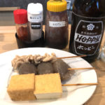 川越「チョッと立ち飲み」せんべろセットで気軽な一杯!串煮が楽しめるアットホームな立ち飲み