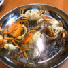 中野「神田屋」サワガニ釣りに挑戦!土日祝は昼飲みも楽しめる気軽な立ち飲み居酒屋