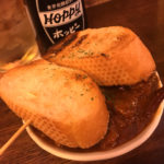 上野「ヤリキ上野支店」金宮ホッピーとタンシチューで一杯!昼飲みもできる高架下のもつ焼き居酒屋
