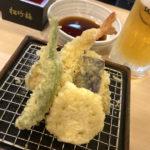 上野「かっちゃん」最大4杯・天ぷら盛りのせんべろセットで昼飲み!気軽な立ち飲み天ぷら酒場