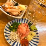 町屋「晩杯屋 京成町屋店」土日は昼飲みもできる!V字カウンターが素敵な立ち飲み晩杯屋