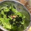 【家飲み 簡単おつまみ】レタス1玉ペロリといける「韓国海苔とカニカマのチョレギサラダ」
