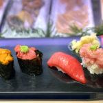 新橋「立喰い寿司 ひなと丸」1貫70円~!本まぐろが気軽に楽しめる立ち食い寿司