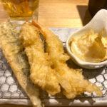池袋「天ぷら定食 まきの」昼飲みもできる気軽で美味しい天ぷら食堂