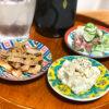 九谷焼の豆皿とそばちょこで晩酌がさらに楽しくなった話(料理盛り付け集)