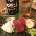 荻窪「魚政宗」3杯2品のせんべろセットが凄すぎる!築地直送の鮮魚が自慢の大衆鮨酒場