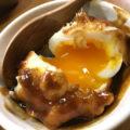 名古屋「立陣」味噌ダレの半熟たまご天ぷら150円に舌鼓!広々とした気軽な串カツ立ち飲み