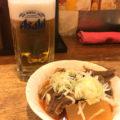 上野「たきおか」ビールとピリ辛牛煮込みでシャキっと朝酒!朝酒・昼酒もできるランドマーク立ち飲み