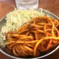 新橋「へそ 新橋本店」限定のナポリタン100円が美味しい!土日祝は昼飲みもできる気軽な立ち飲み