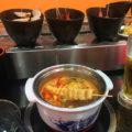 大久保「辣辛子 回転火鍋」鍋の具100円がくるくる廻る!一人鍋もできる新感覚の回転しゃぶしゃぶ