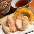 赤羽「うずまき」半熟玉子天100円と讃岐うどんで〆飲み!昼飲みもできる讃岐うどんダイニング