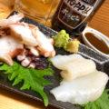 水道橋「たこといかのでん」たこ料理が仲間入り!佐渡ヶ島直送のいか&たこ料理が楽しめる専門酒場